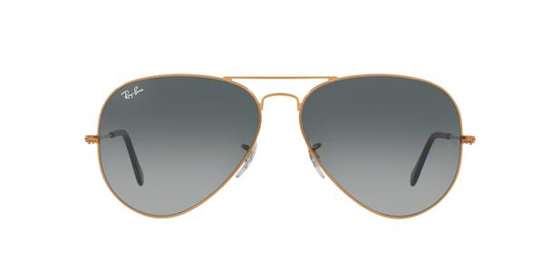 Ray-Ban Aviador Large Metal II RB3026L 197 71 Bronze   Cobre Lente Cinza  Degradê Tam 62 336c1f2c24