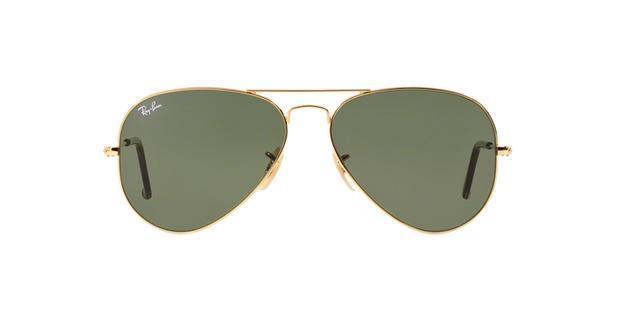 dbf888857283d Ray-Ban Aviador RB3025 181 Ouro Lente Verde Escuro G15 Tam 62 ...