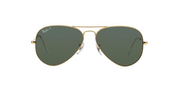 fd29008fa31c0 Ray-Ban Aviador RB3025L 001 58 Arista Ouro Lente Polarizada Verde Escuro  G15 Tam 62