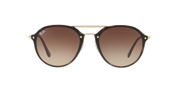 Ray-Ban Blaze Double Bridge RB4292N 710 13 Tartaruga Lente Marrom Degradê  Tam 62 0caf7af17a
