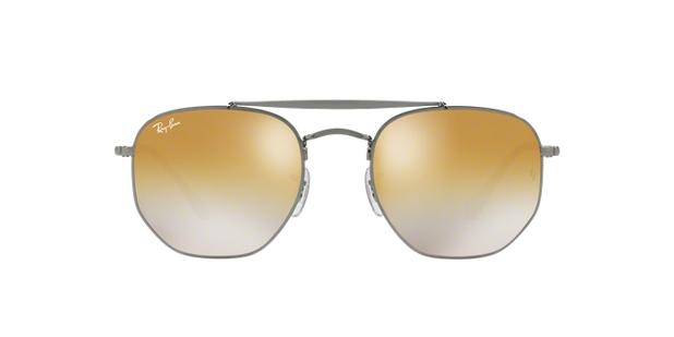 Ray-Ban Hexagonal RB3648 004 I3 Grafite Lente Bronze Cobre Degradê Tam 54 c4b8fb9e03