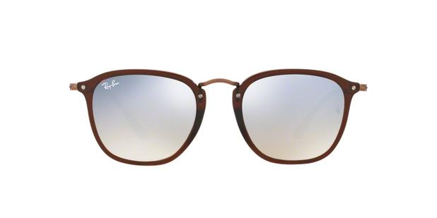 Ray-Ban RB2448N 62569U Marrom Lente Cinza Flash Degradê Tam 51 ... cb91e15a2c
