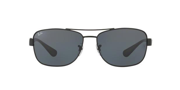 Ray-Ban RB3518L 006 87 Preto Lente Cinza Tam 63 - Óculos de Sol ... cc783d0e18