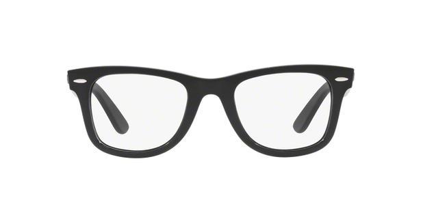 Ray-Ban Wayfarer RX4340V 2000 Preto Polido Lente Tam 50 - Óculos de ... 1f29734ed8