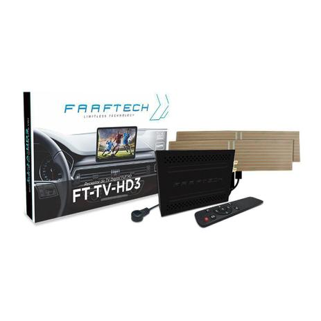 Imagem de Receptor de TV Digital Automotivo Full HD Sintonizador Faaftech