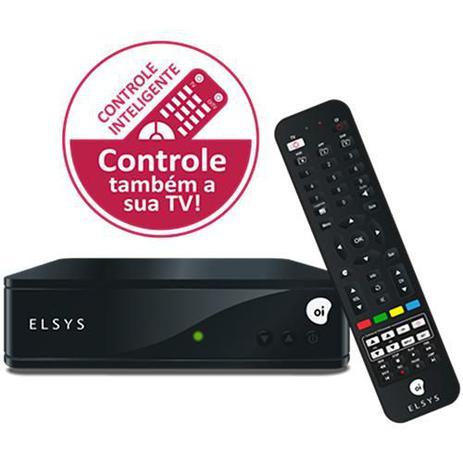 bd72a075093 Receptor Elsys Oi Tv Livre Hd Etrs44 Controle Inteligente - Receptor ...