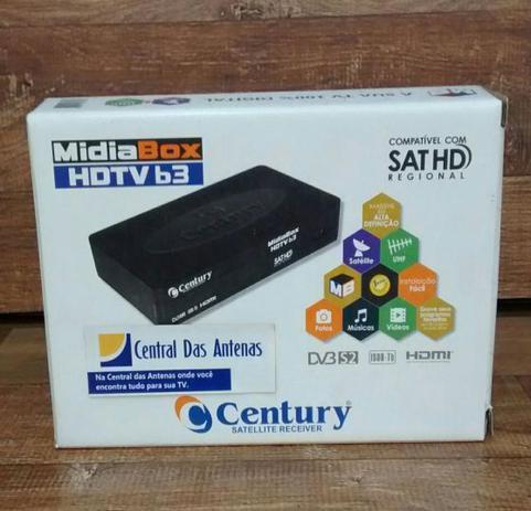 Receptor MidiaBox HDTV B3 Digital HD Century