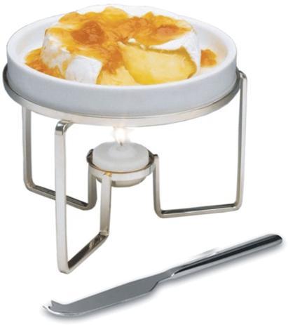 Imagem de Rechaud para queijo brie