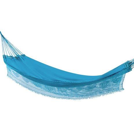 5cd9a1e9f Rede de Dormir Casal Sol a Sol Azul Claro - Redes de dormir - Rede ...