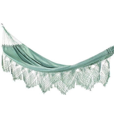 badf3b157c1781 Rede De Dormir Luxo Jeans Verde - Redes de dormir