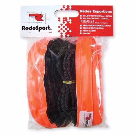 Rede De Vôlei Praia 4 x 4 Redesport com 2 faixas - Vôlei - Magazine ... 12420824c010a