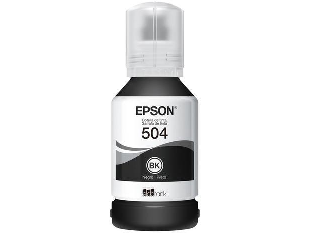 Refil de Tinta Epson Preto T504 - Original P/ L4150, 4160, 6171