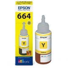 Imagem de Refil De Tinta Original Epson T664420 Yellow 664 L355 L365 L200 L110 L555 L395 L396 L380 70ML