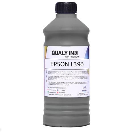 Imagem de Refil de Tinta para Impressora Epson L396 Preto 1 Litro Tanque de Tinta Multifuncional Qualy Ink