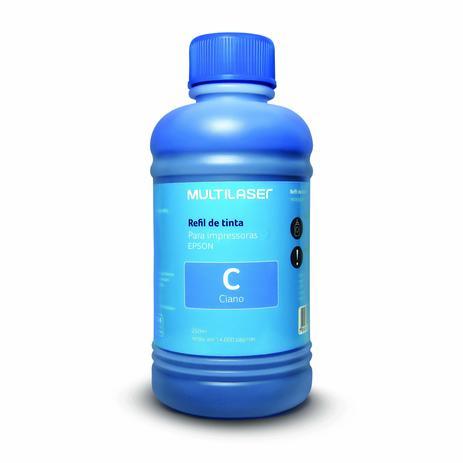 Imagem de Refil De Tinta Para Impressoras Epson 250Ml Ciano - RF014
