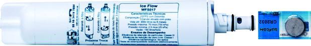 Imagem de Refil Filtro Purificador Água Consul Bem Estar Com Bateria