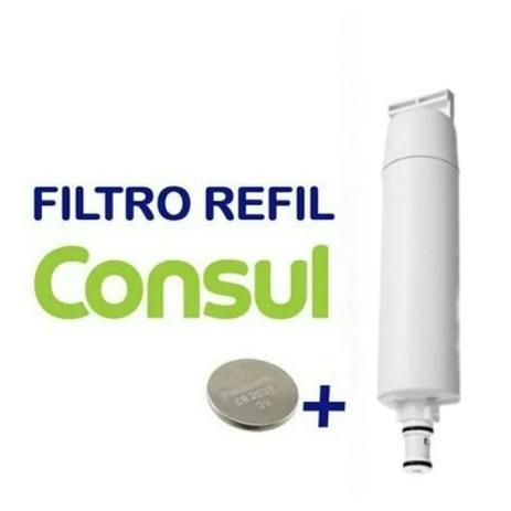Imagem de Refil Filtro Purificador De Água Compatível Consul Facilite