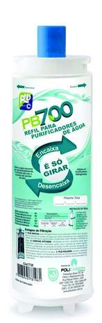 Imagem de Refil Filtro Purificador Masterfrio Rótulo Azul 22,5mm Pb700