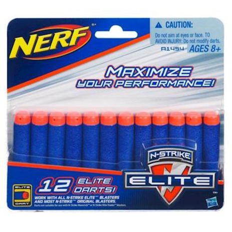7205ceb292 Refil Nerf N-strike Elite Com 12 Dardos A1454 - Hasbro - Acessórios ...