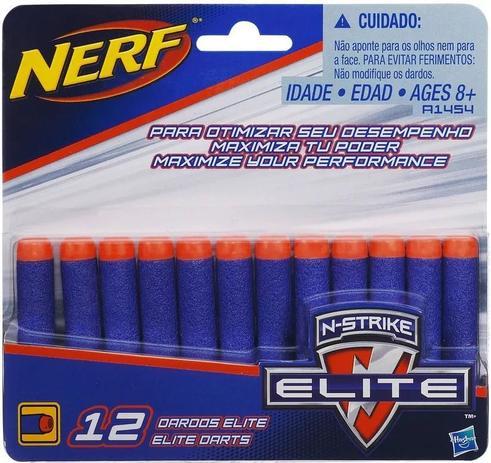 317a4ad0a5 Refil Nerf N-Strike Elite com 12 dardos - Hasbro - Acessórios Nerf ...
