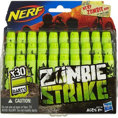 Imagem de Refil Nerf Zombie 30 Dardos - Hasbro A4570