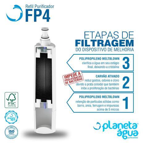 Imagem de Refil Purificador de Água Consul CPC30AB  CPB35AB FP4 Planeta Água 1078