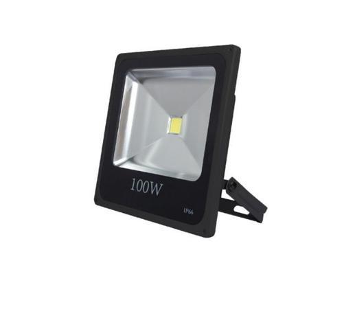 REFLETOR LED 100W IP66 BIVOLT BRANCO FRIO 6000K 7000Lm - Ddy