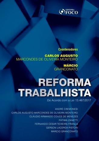 120b840696c Reforma Trabalhista - Editora foco - - - Magazine Luiza