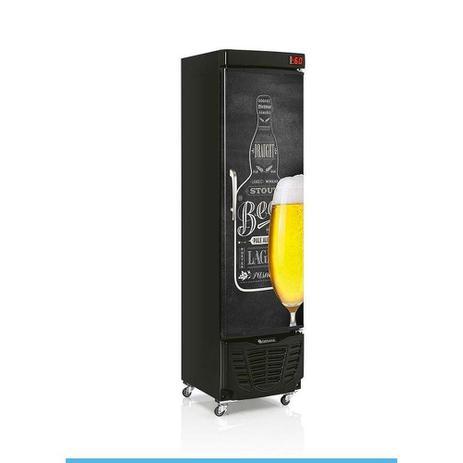 Imagem de Refrigerador de Bebidas Gelopar GRBA-230e Qc Preto
