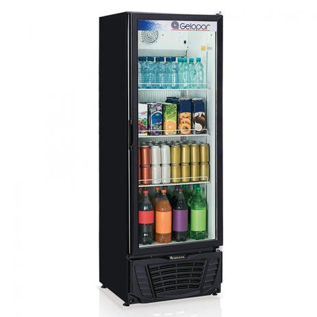 Imagem de Refrigerador Expositor Vertical Frost Free 414L Profissional Gelopar 220V 295W Preto