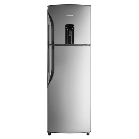 Imagem de Refrigerador Panasonic BT40 387L 2 Portas Aço Escovado Frost Free 220V NR-BT40BD1XB