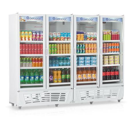 Imagem de Refrigerador Vertical Visa Cooler 110v GRVC1950 - Gelopar