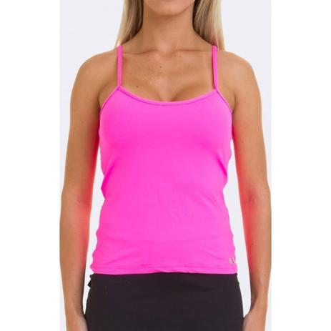 5430706f22 Regata 53 alça fina bojo pink vestem - Regata de Academia - Magazine ...