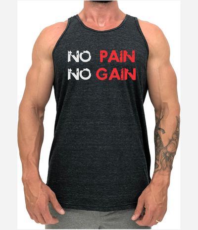 a3a8b8f481c41 Regata Long Line No Pain No Gain - Produto nacional - Regata de ...