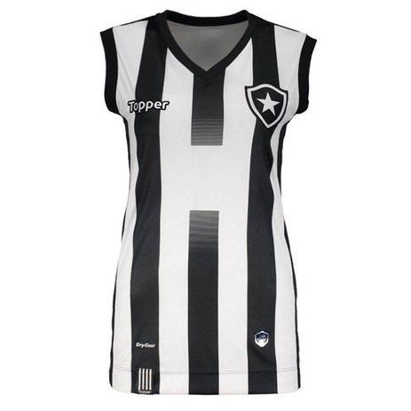 Regata Topper Botafogo 1 Vôlei 2017 Feminina - Roupas esportivas ... 39366a1ec87a9