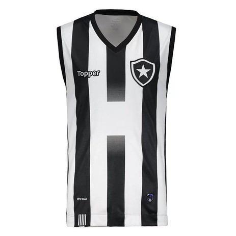 772900b25 Regata Topper Botafogo 1 Vôlei 2017 - Camisa de Time - Magazine Luiza