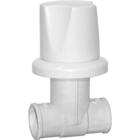 Imagem de Registro de Pressão Soldável Foz 25mm Branco c/ Canopla - Viqua
