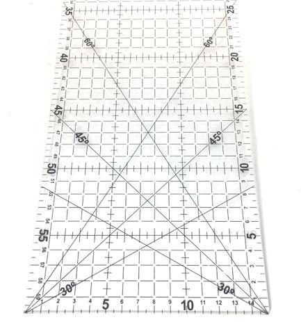 Imagem de Régua Para Patchwork E Costura Westpress 60x15cm