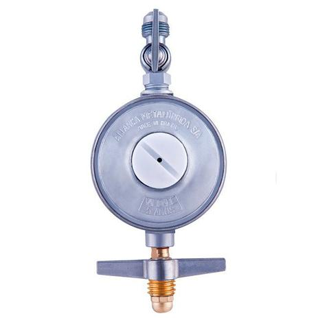 Imagem de Regulador alianca baixa pressão grande (503/18 - 5kg/h) p.13 x 3/8 sae