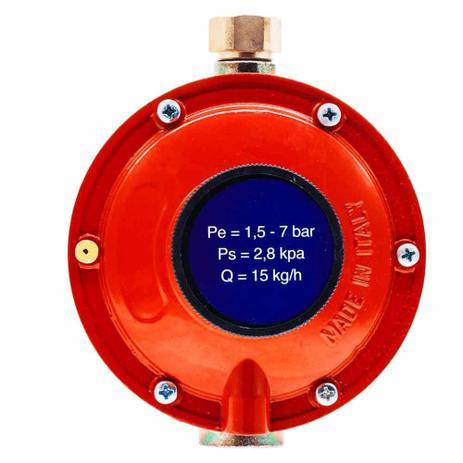 Imagem de Regulador de Gás Mondial 15 kg/h Baixa Pressão