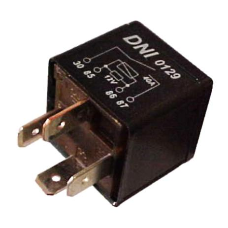 Imagem de Relé Injeção Eletrônica 120007826 Opel 4 Terminais - DNI 0129