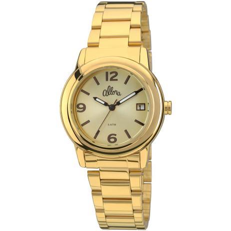 93e26376b17 Relogio Allora Feminino Analogico Fashion - Al2115ae 4x - Relógio ...