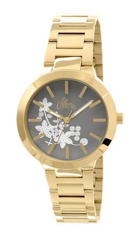 52c71cd87e882 Relógio Allora Feminino Bordados Dourado AL2036CI4C - Relógio ...