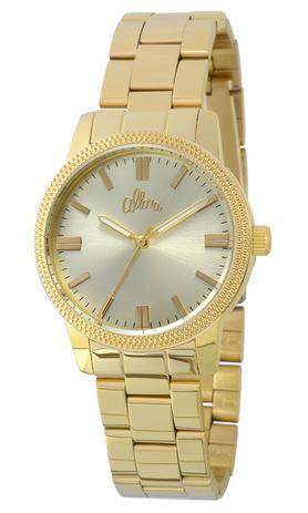 1a0eca7f8ef55 Relógio Allora Feminino Dourado AL2035EZO4D - Relógio Feminino ...