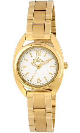 4961a6304bc5d Relógio Allora Feminino Dourado AL2035KL4B - Relógio Feminino ...
