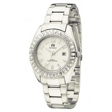 22d42113942 Relógio Ana Hickmann Feminino - AH20131Q - Magnum - Relógio Feminino ...