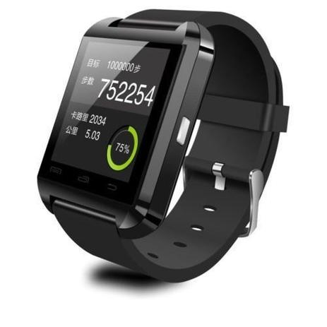 850f7325d6a Relogio Bluetooth Smartwatch u8 Compativel Iphone e Android - Sport watch