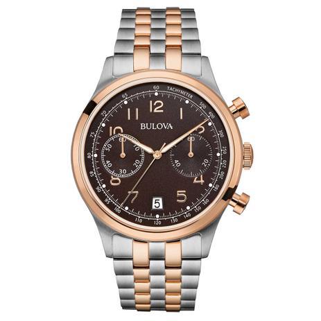 8c732c421f6 Relógio Bulova Analógico Cronógrafo Masculino WB22391P - Relógio ...