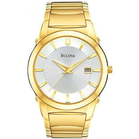 4b8f285fa2d Relógio Bulova Dress Analógico Unissex WB21605H - 97B108 - Relógio ...