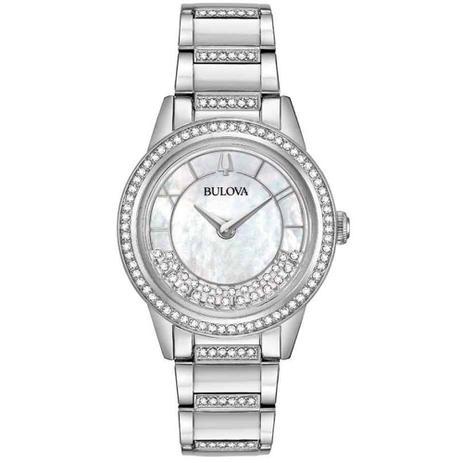 7726bc7d7ce Relógio Bulova Feminino Crystal TurnStyle 96L257 - Relógio Feminino ...